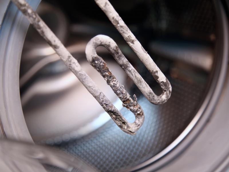 What hard water does to your pipes and household appliances